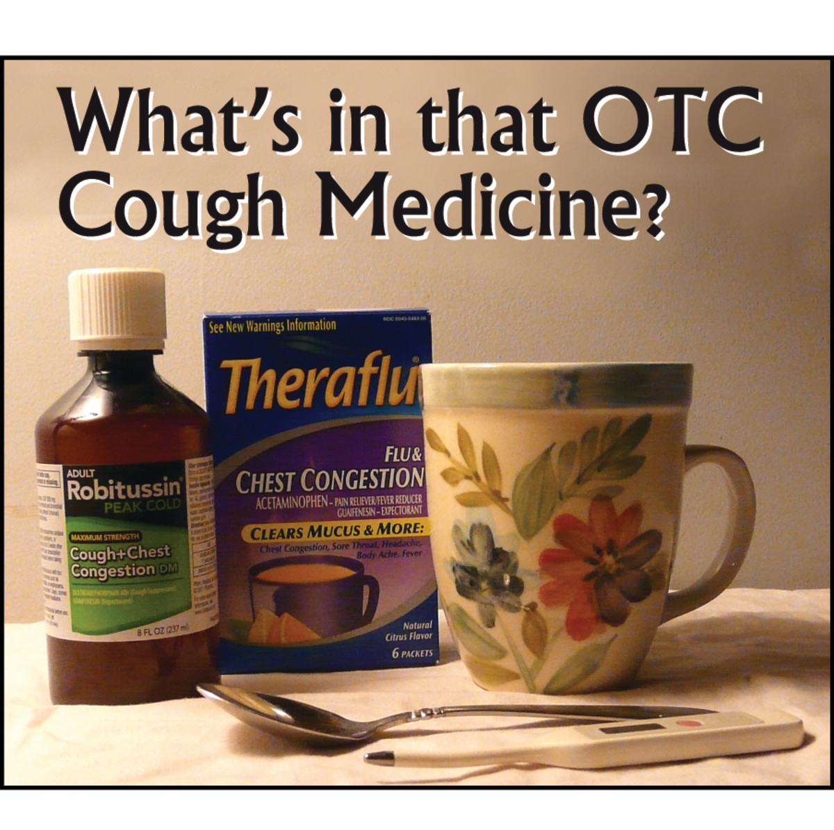 Common Cold Medicine Ingredients and What They Do
