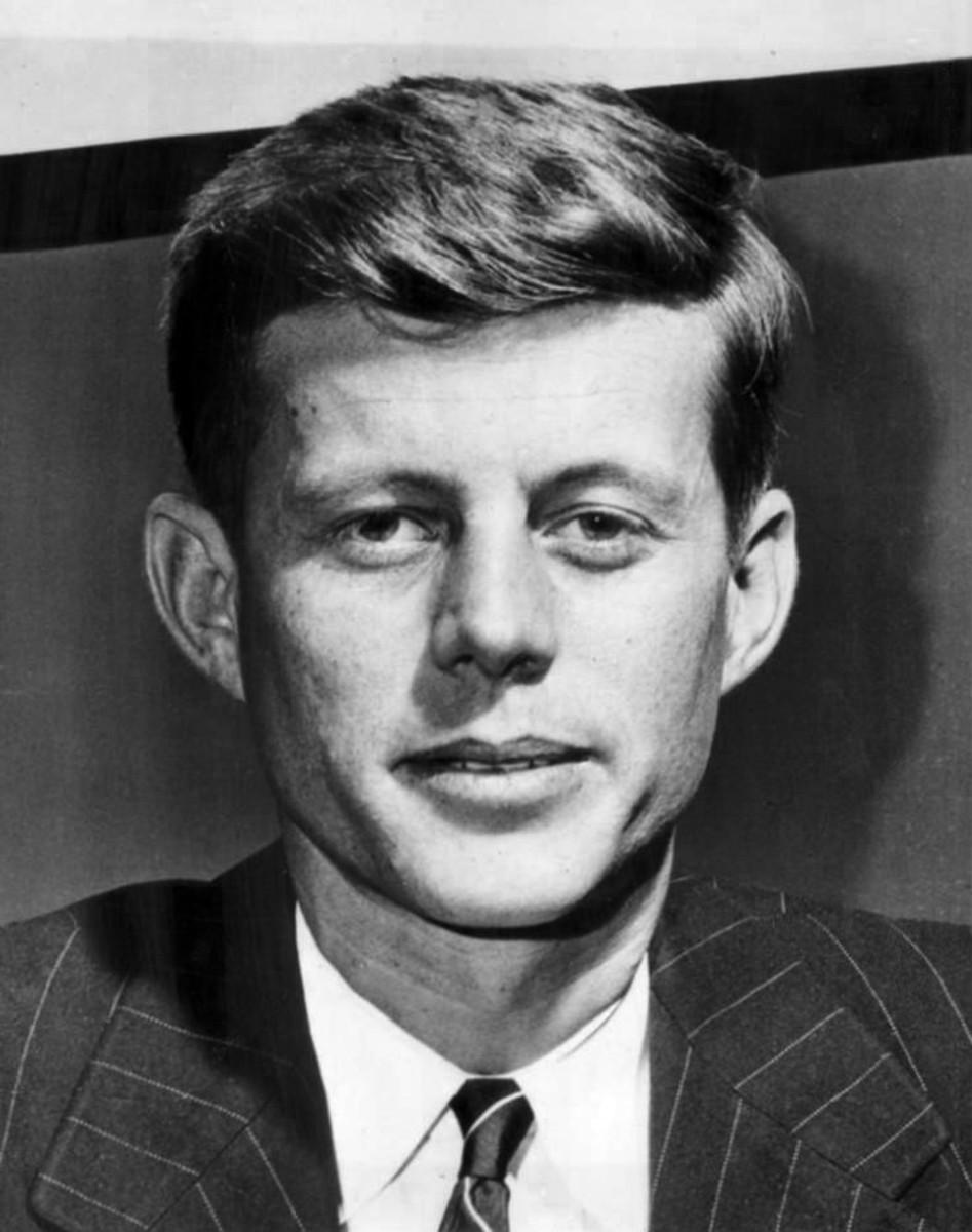 John F. Kennedy in 1947