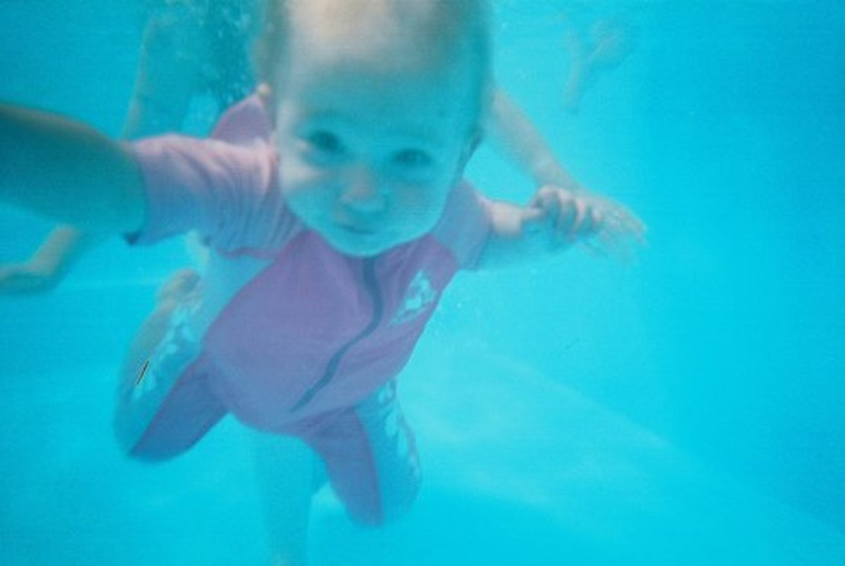 Safety Tips When Taking Your Baby Swimming.