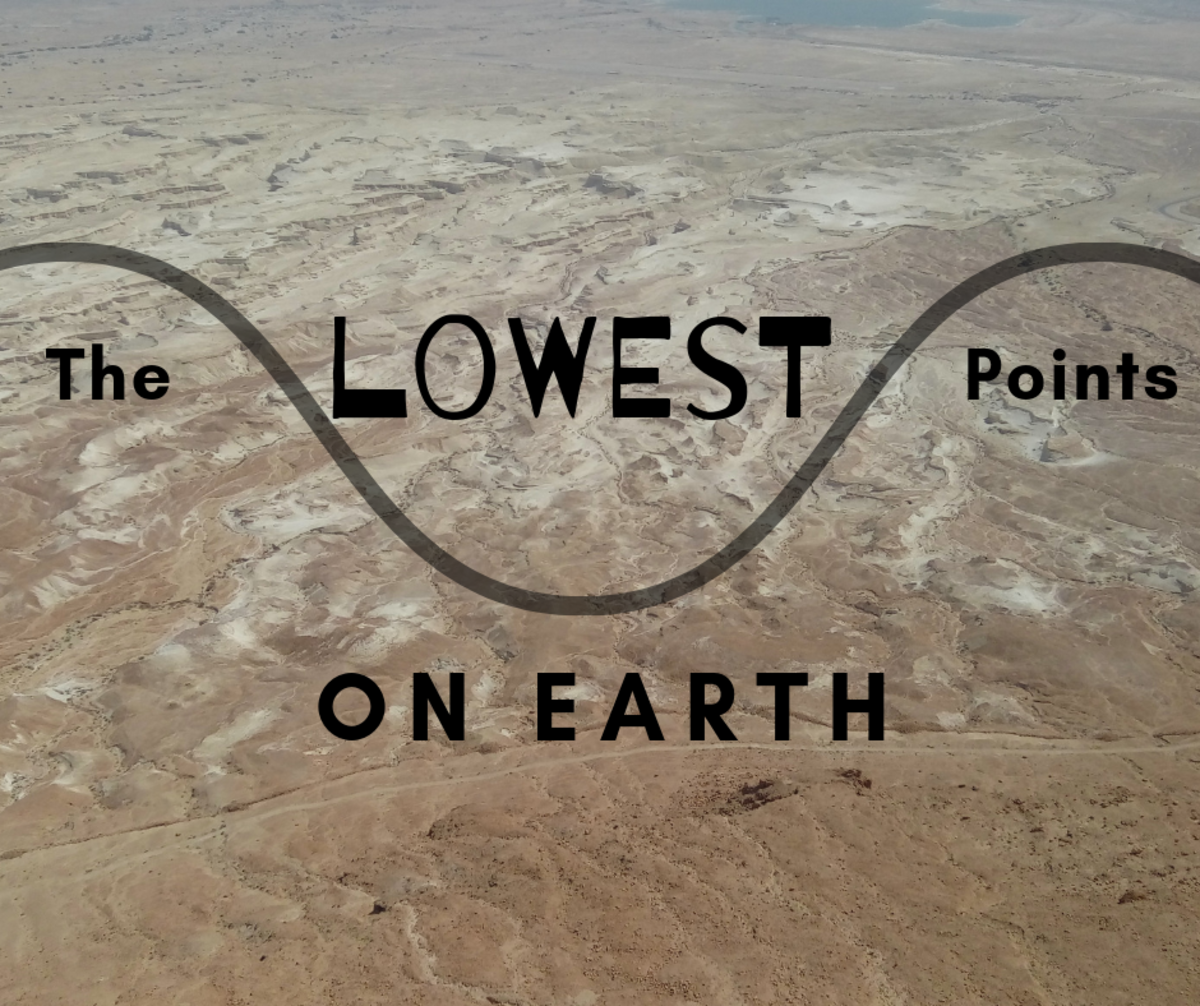 Below Sea Level: 10 of the Lowest Points in the World