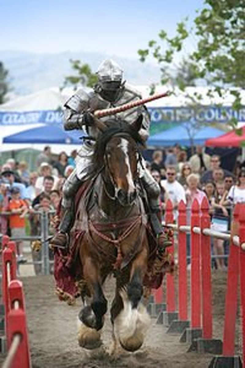 Jousting Rules in Medieval and Modern Times