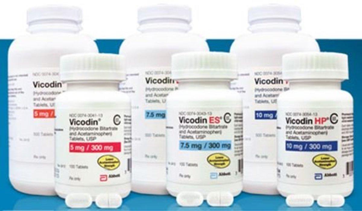 Vicodin vs. Lortab vs. Norco for Pain