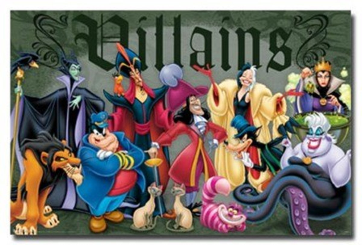 The Top 10 Worst Disney Villains