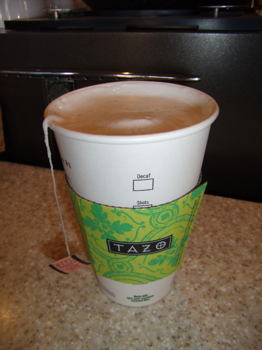 Keep in mind that Tazo is the brand of all of the teas that Starbucks offers, not just one type of tea.