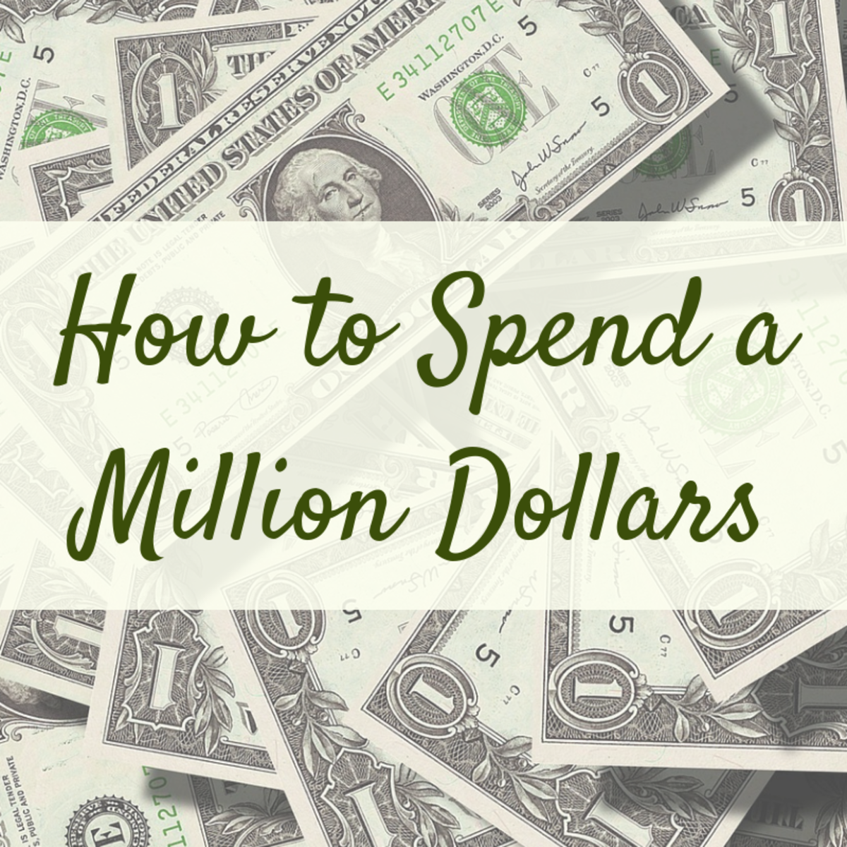 Hoping to win the lottery? Looking to cash in on your investments? Here are some ideas for what you can do with a million dollars when the day comes.