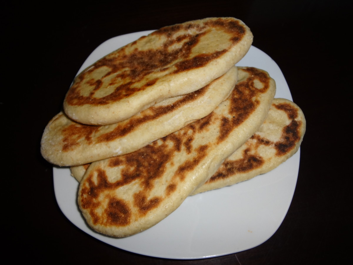 Nutty Whole Wheat Naan Bread Recipe