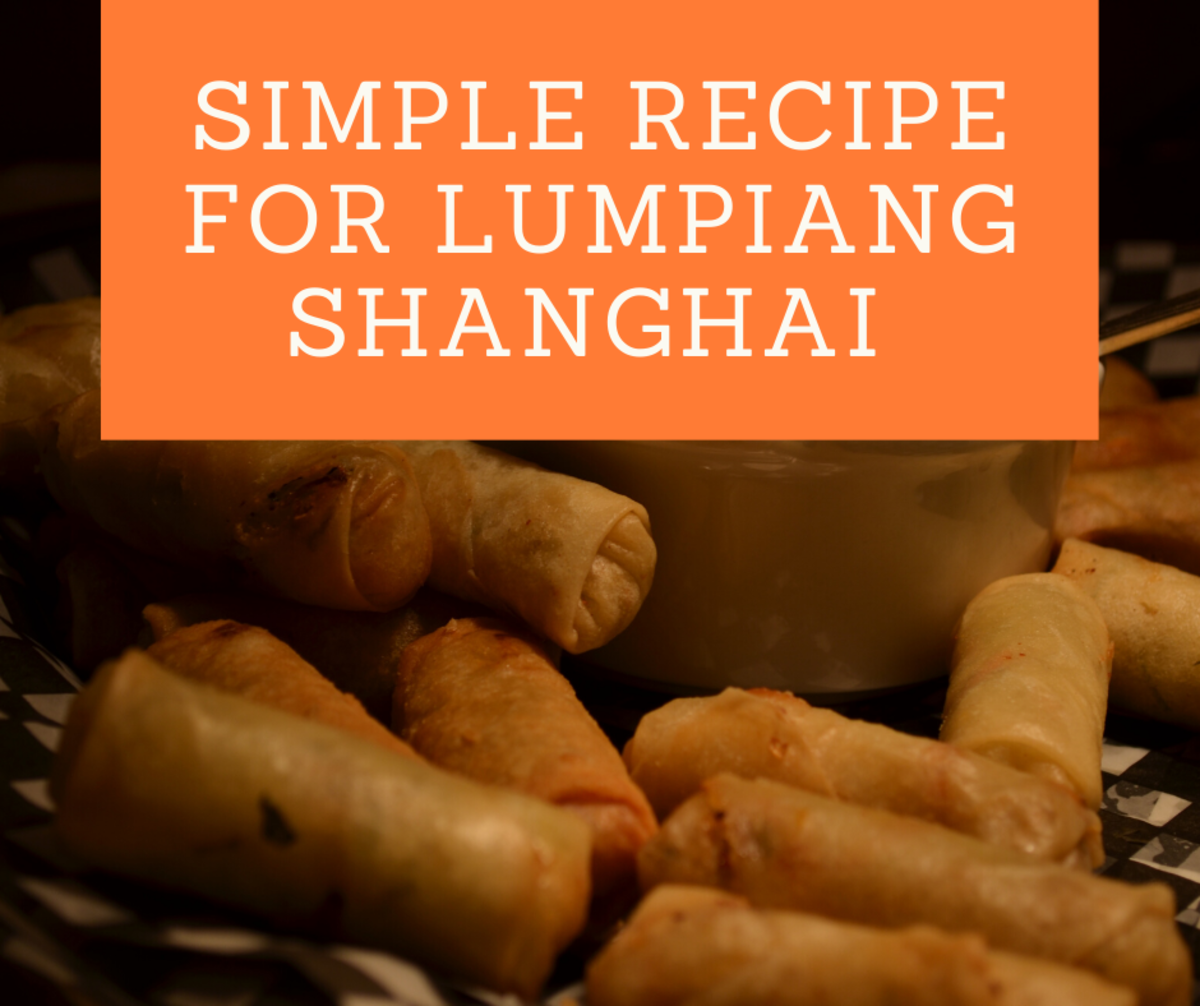 Simple Recipe for Lumpiang Shanghai (Meaty Philippine Spring Rolls)