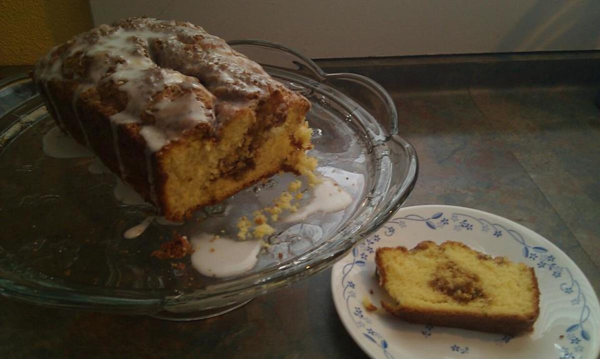 Yellow Cake Mix Cinnamon Bread Recipe