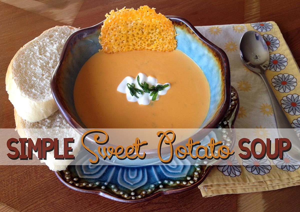 Simple Sweet Potato Soup Recipe