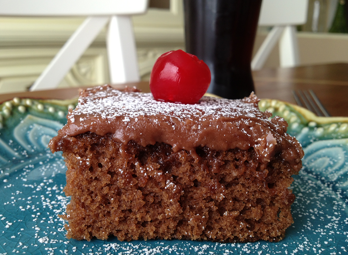 Cherry Coca-Cola Cake Recipe
