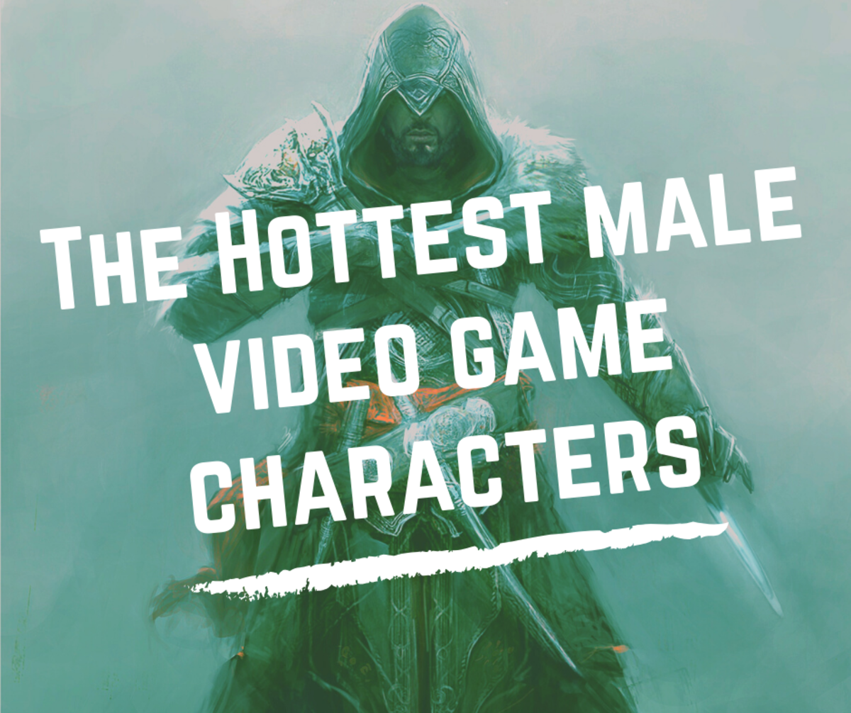 Top 20 Hottest Male Video Game Characters