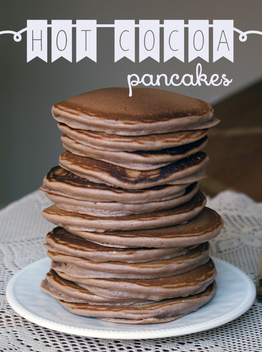 Recipe for Hot Chocolate Pancakes