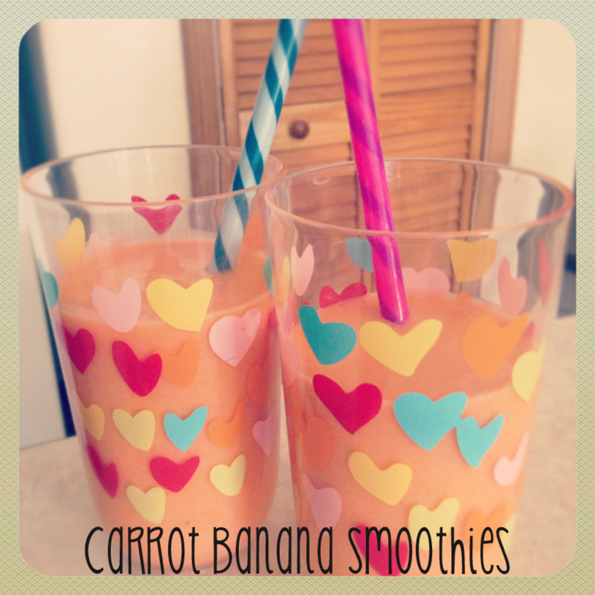 Carrot Banana Smoothie Recipe