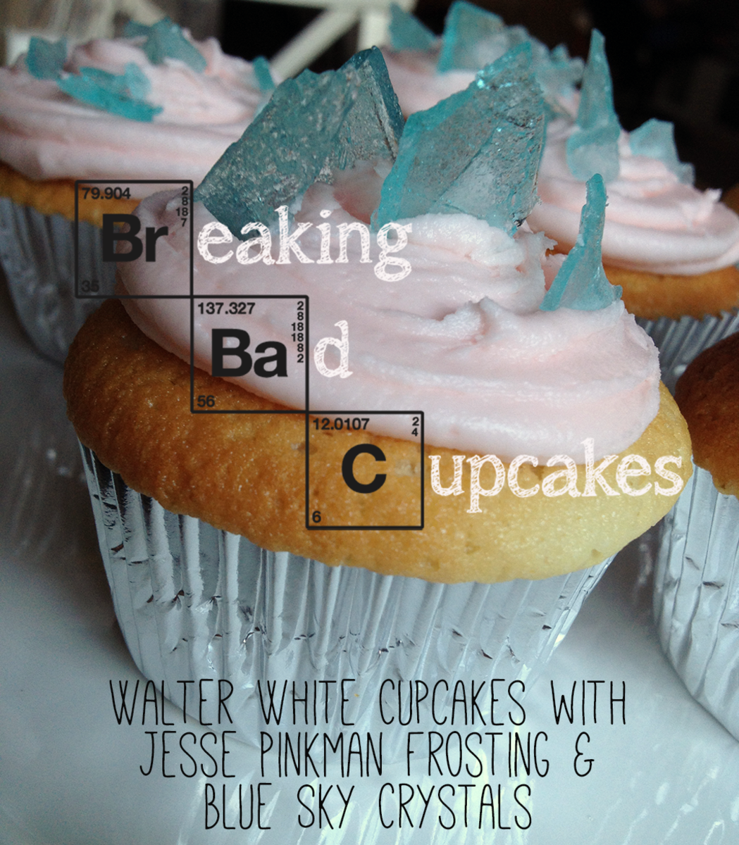 Breaking Bad Blue Cupcakes  Eats Like A Duck