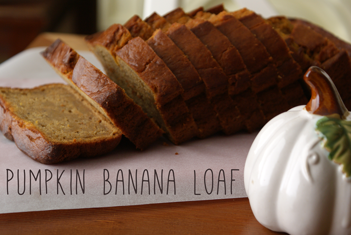 Pumpkin Banana Loaf Recipe