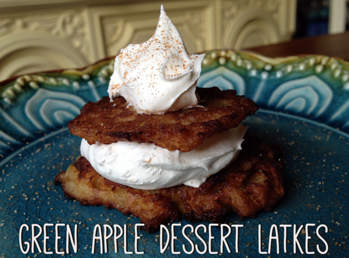 Green Apple Dessert Latkes