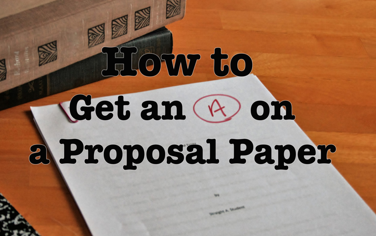 How To Write A Proposal Essaypaper  Owlcation