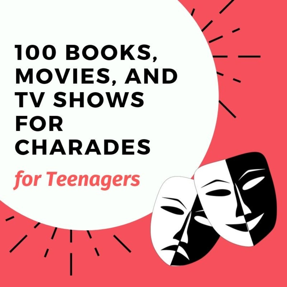Charades is a fun game for teenagers and the rules are simple.