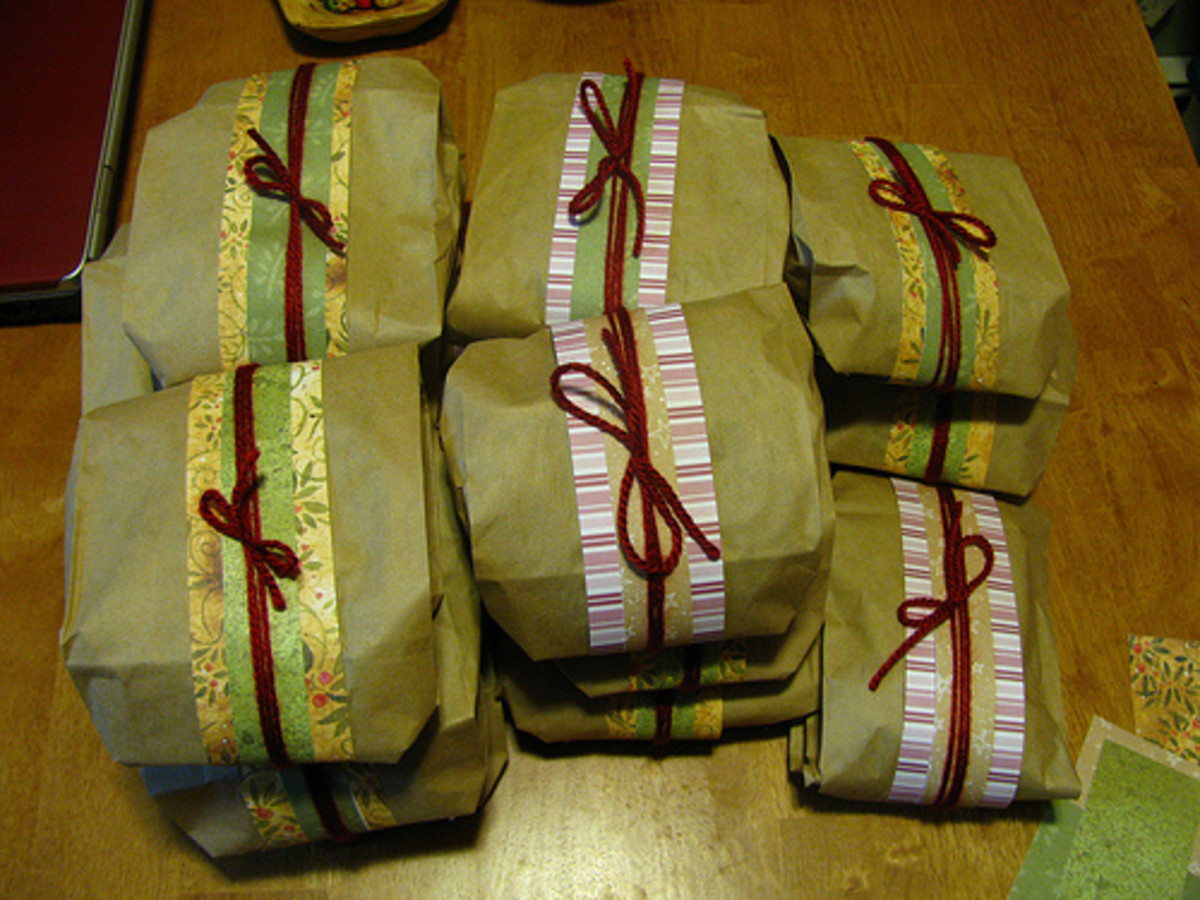 How to Wrap a Gift If You Have Run out of Wrapping Paper