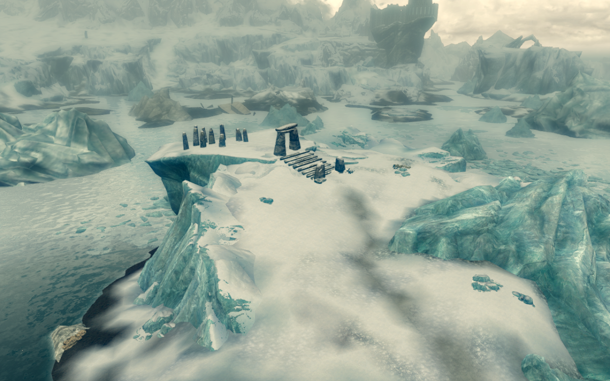 The Serpent Stone primary location in Skyrim.