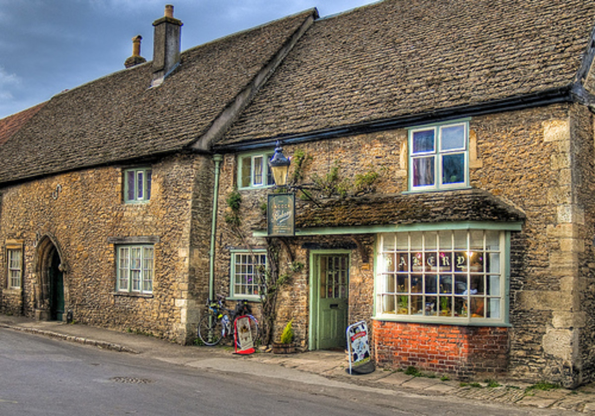Lacock, Wiltshire:  Filming Location for Harry Potter and TV Period Dramas
