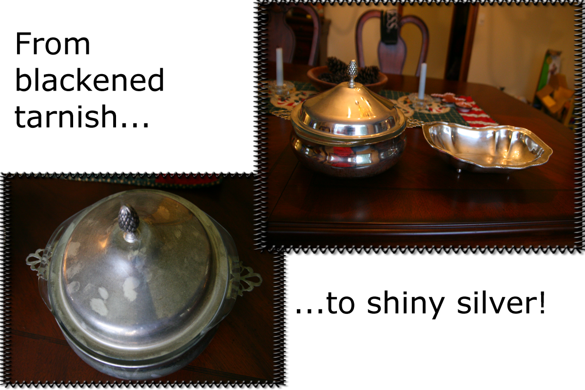 How to Clean Silver with Homemade Tarnish Remover