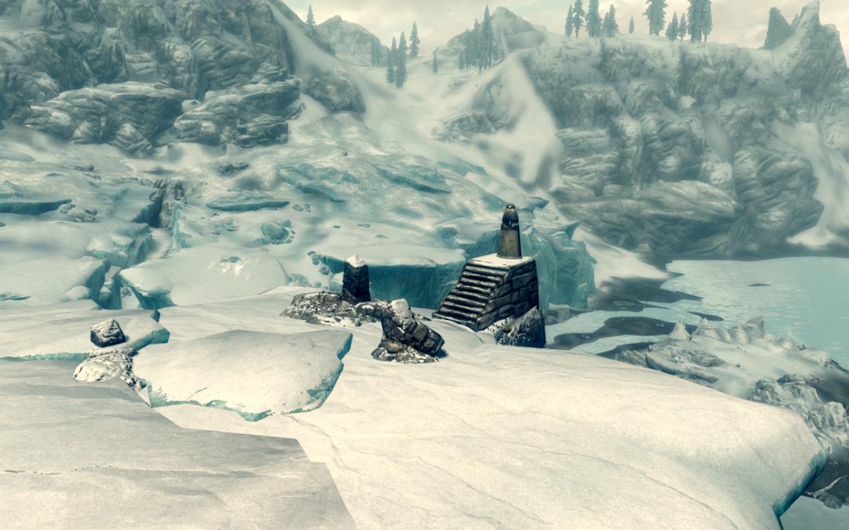 The Tower Stone primary location in the Elder Scrolls V: Skyrim.