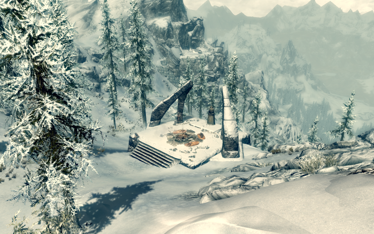 The Lord Stone primary location in the Elder Scrolls V: Skyrim.