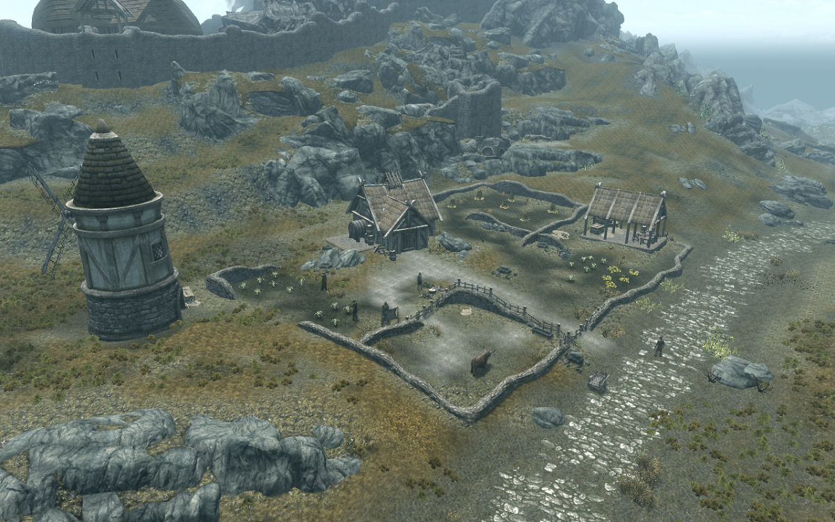 The Battle-Born Farm primary location in Skyrim.
