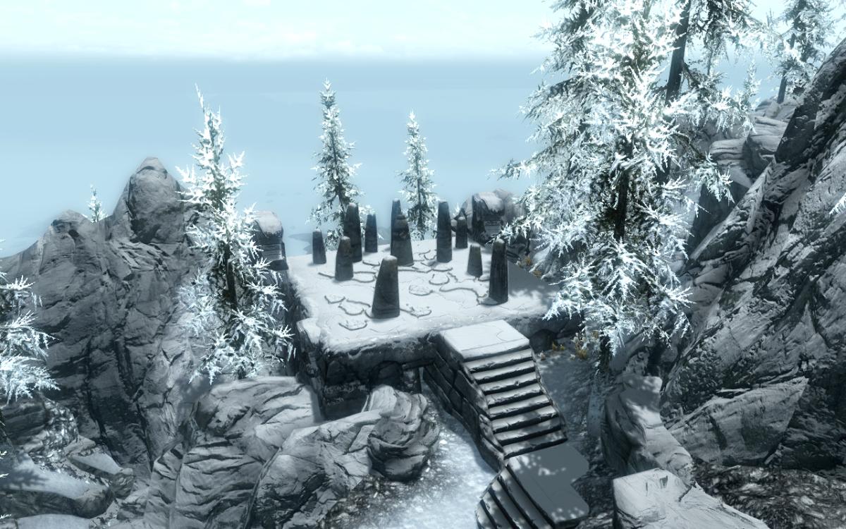 The Steed Stone in the Elder Scrolls V: Skyrim.