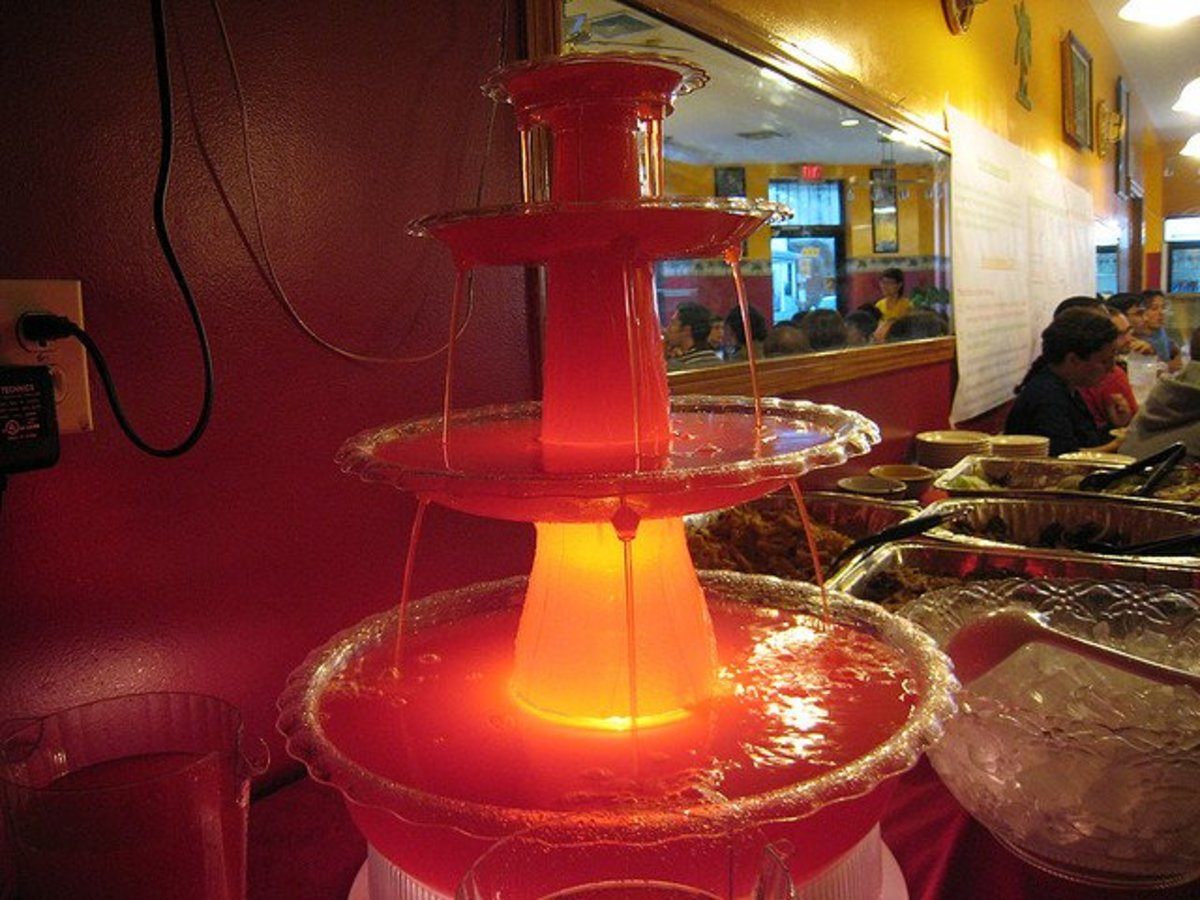 Punch Fountain adds a special touch to a party