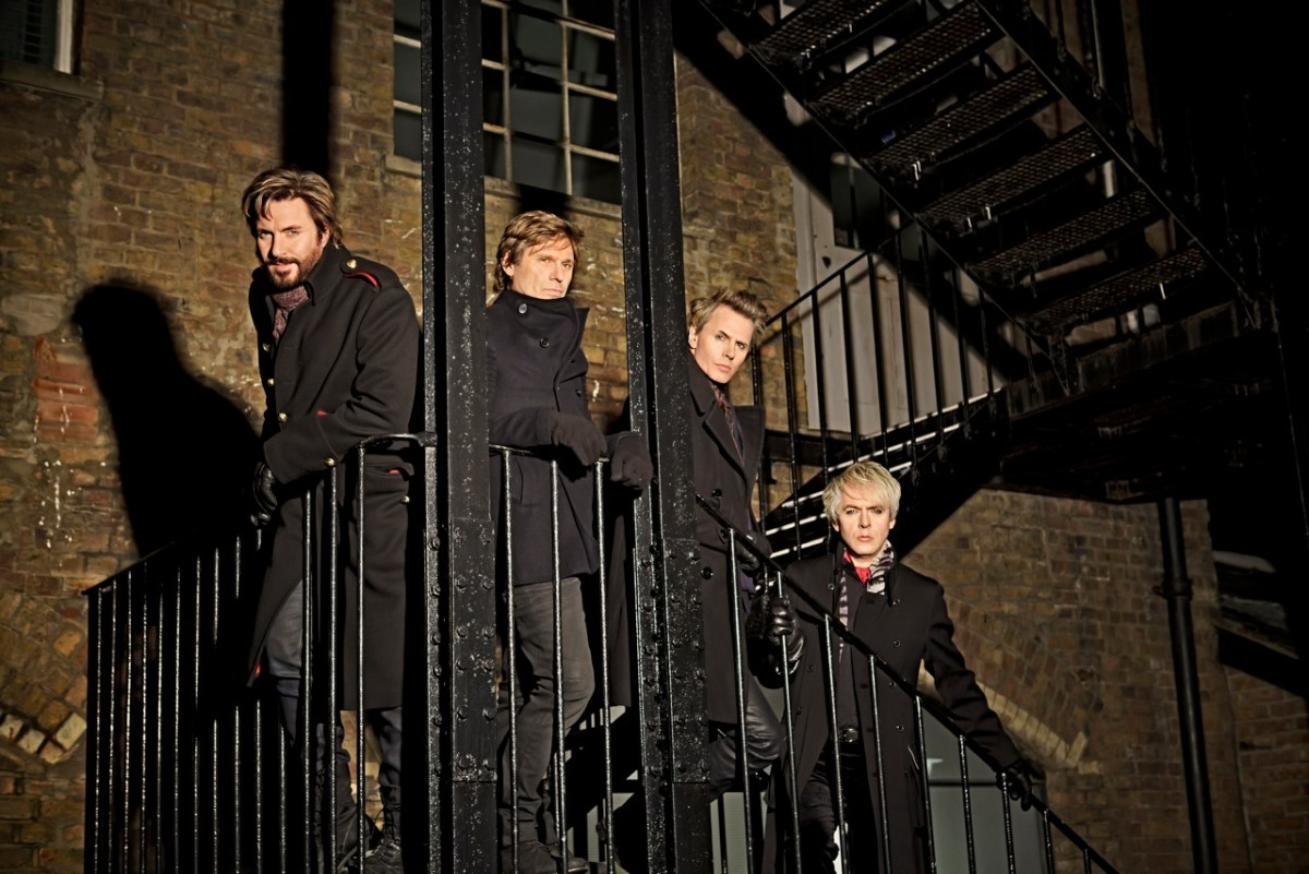 Duran Duran: Simon Lebon, Roger Taylor, John Taylor and Nick Rhodes.