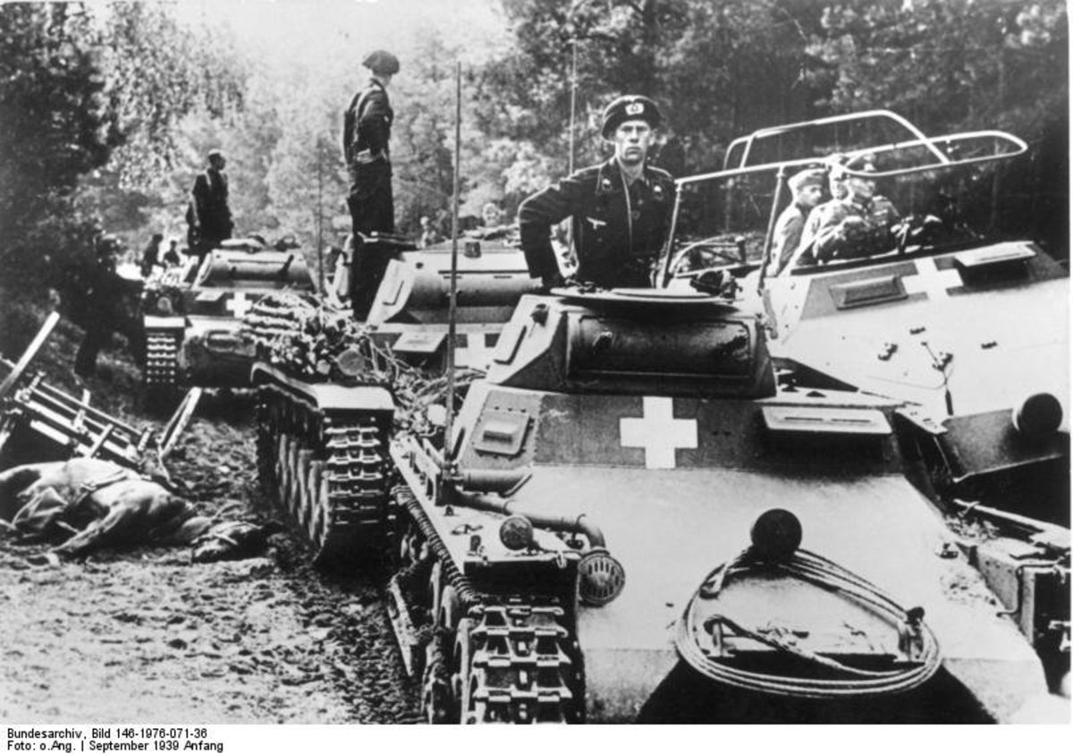 WW2 Blitzkrieg: German panzers in Poland, 3 September 1939
