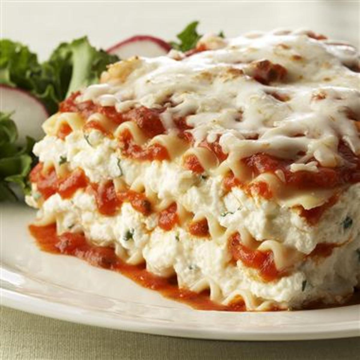 My Family's Favorite Easy Lasagna Recipe