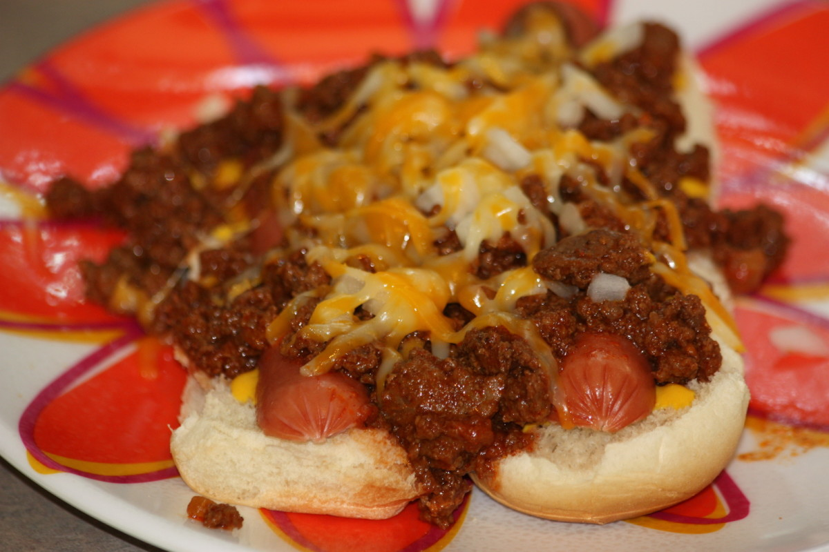 Chili dogs are an inexpensive and delicious meal.
