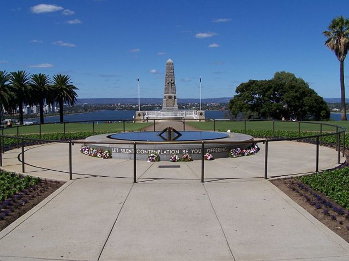 Interesting Things to Do and See in Kings Park in Perth, Western Australia