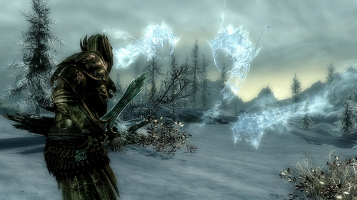 Those ice wraiths are no match for a well honed dagger.