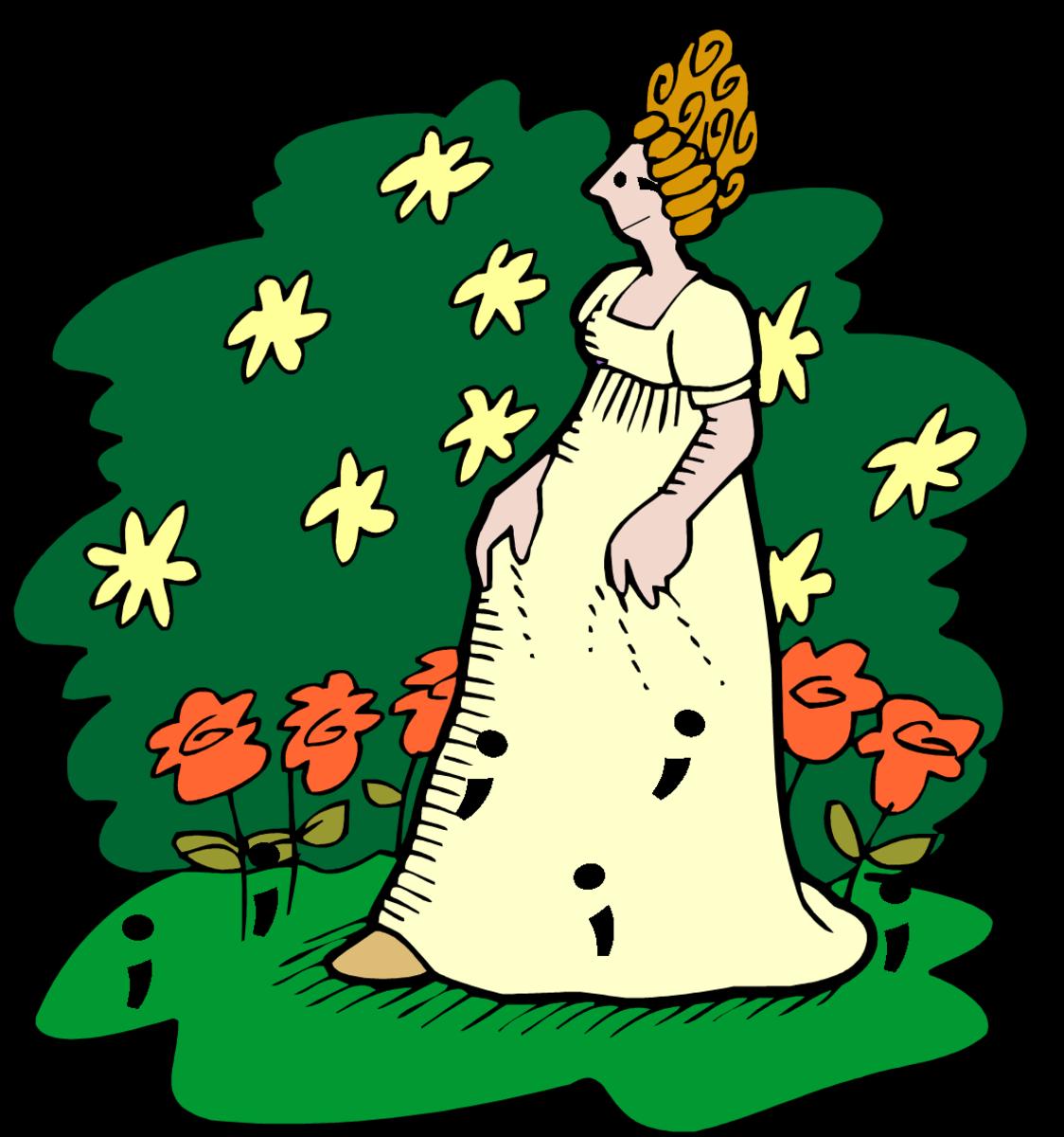 Lady Semicolon - Snooty and Sassy