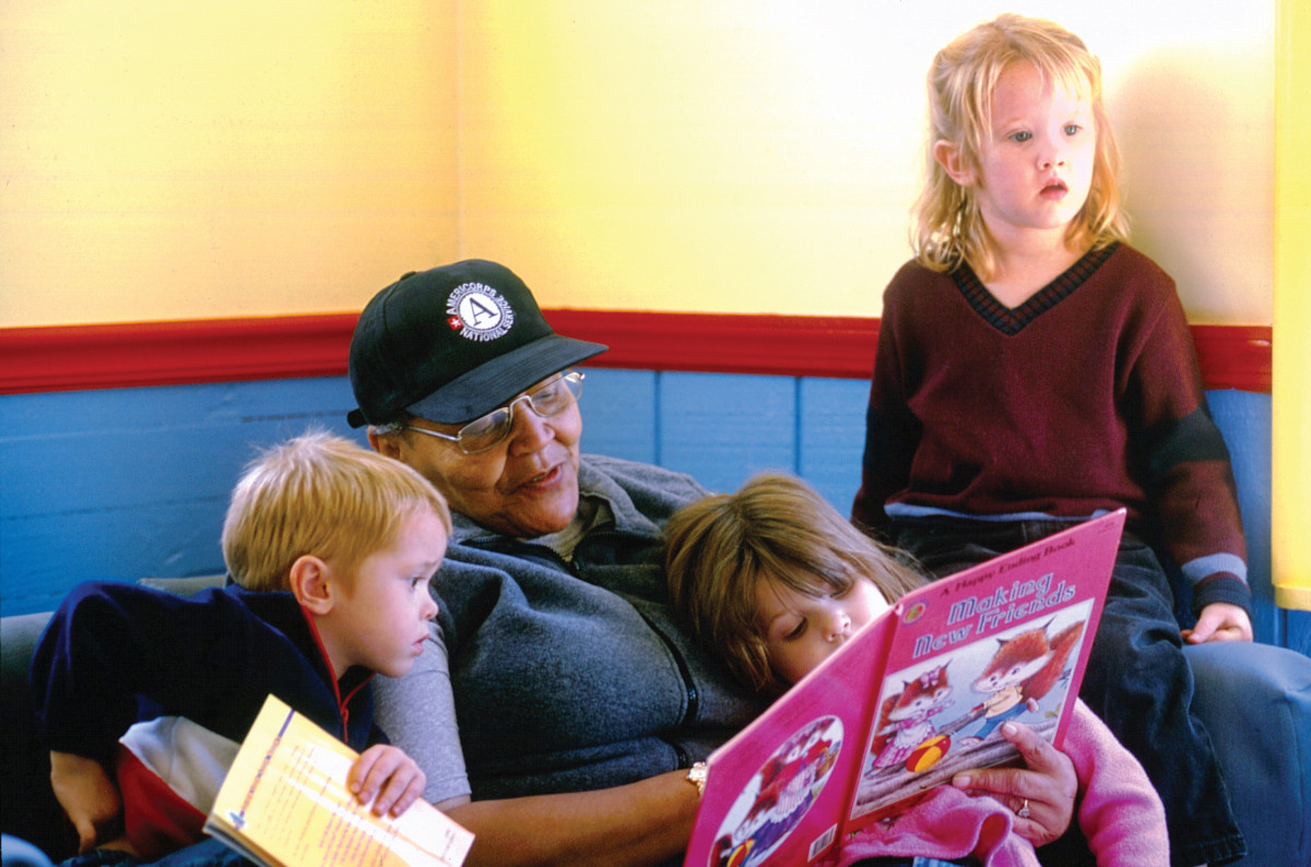 Reading to kids was something I did daily in my home daycare business.