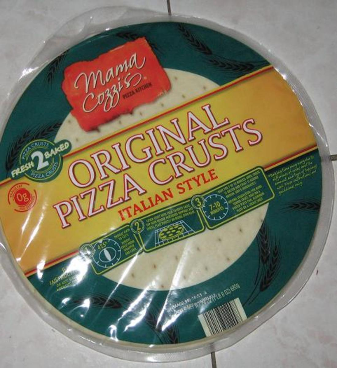 A Review of Mama Cozzi's Original Pizza Crusts From Aldi