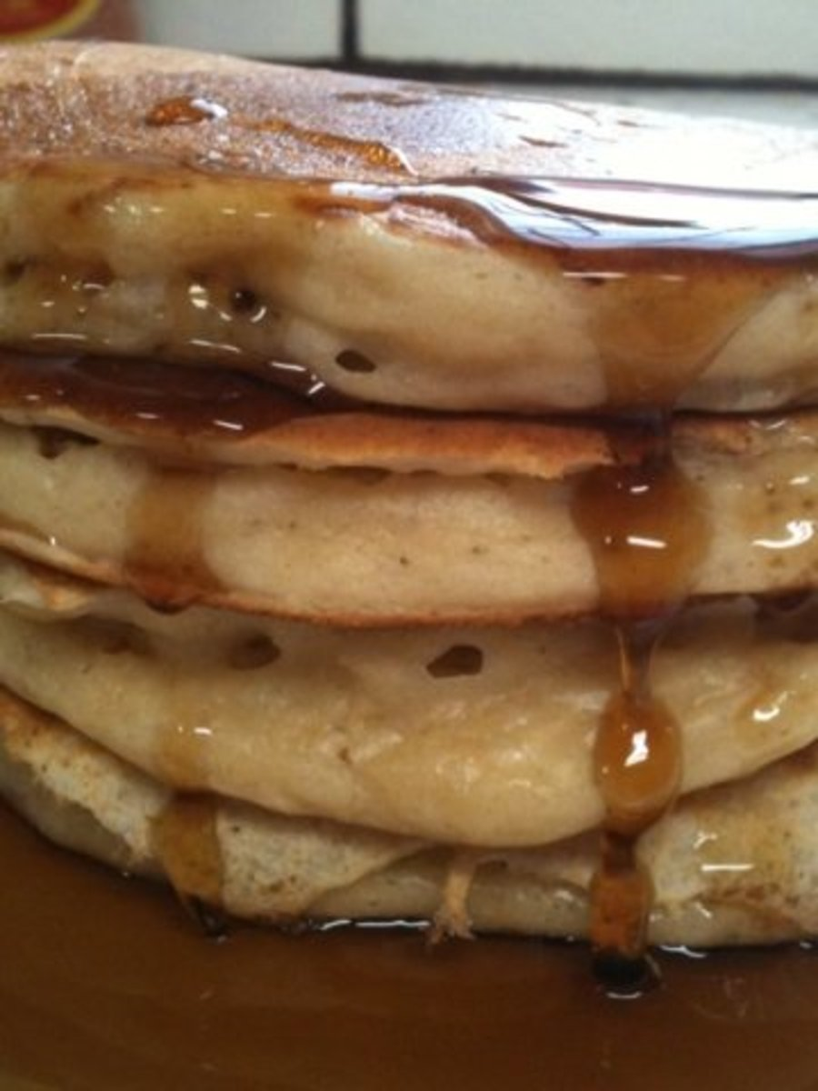 How to Make Moist and Fluffy Whole Wheat Pancakes