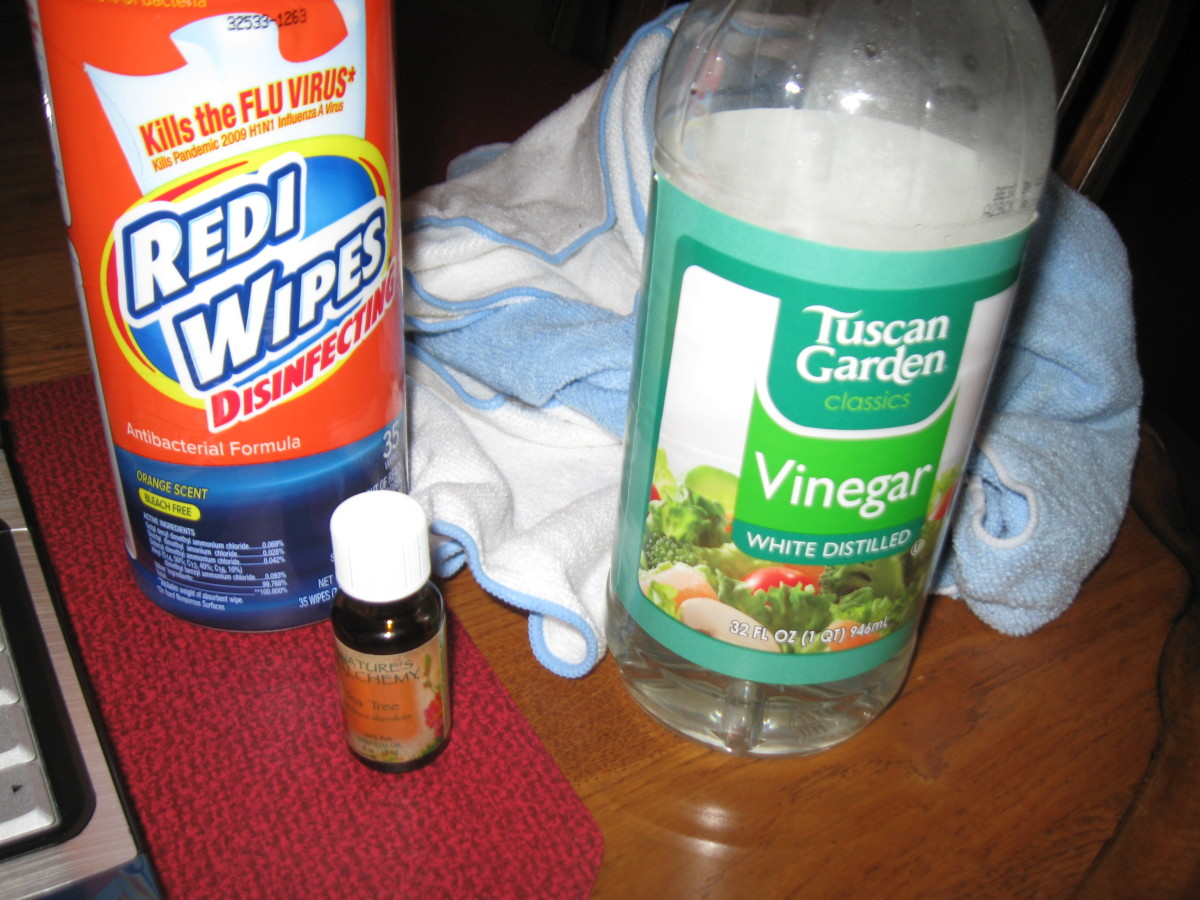 How to Make Your Own Disinfectant Wipes