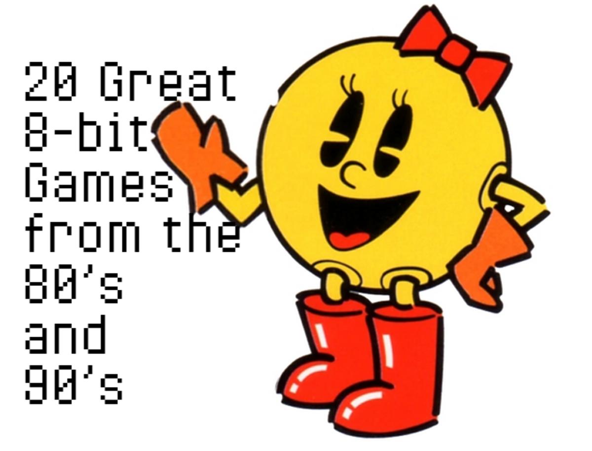 Top 20 Old School 8-bit Games of the 80's & 90's