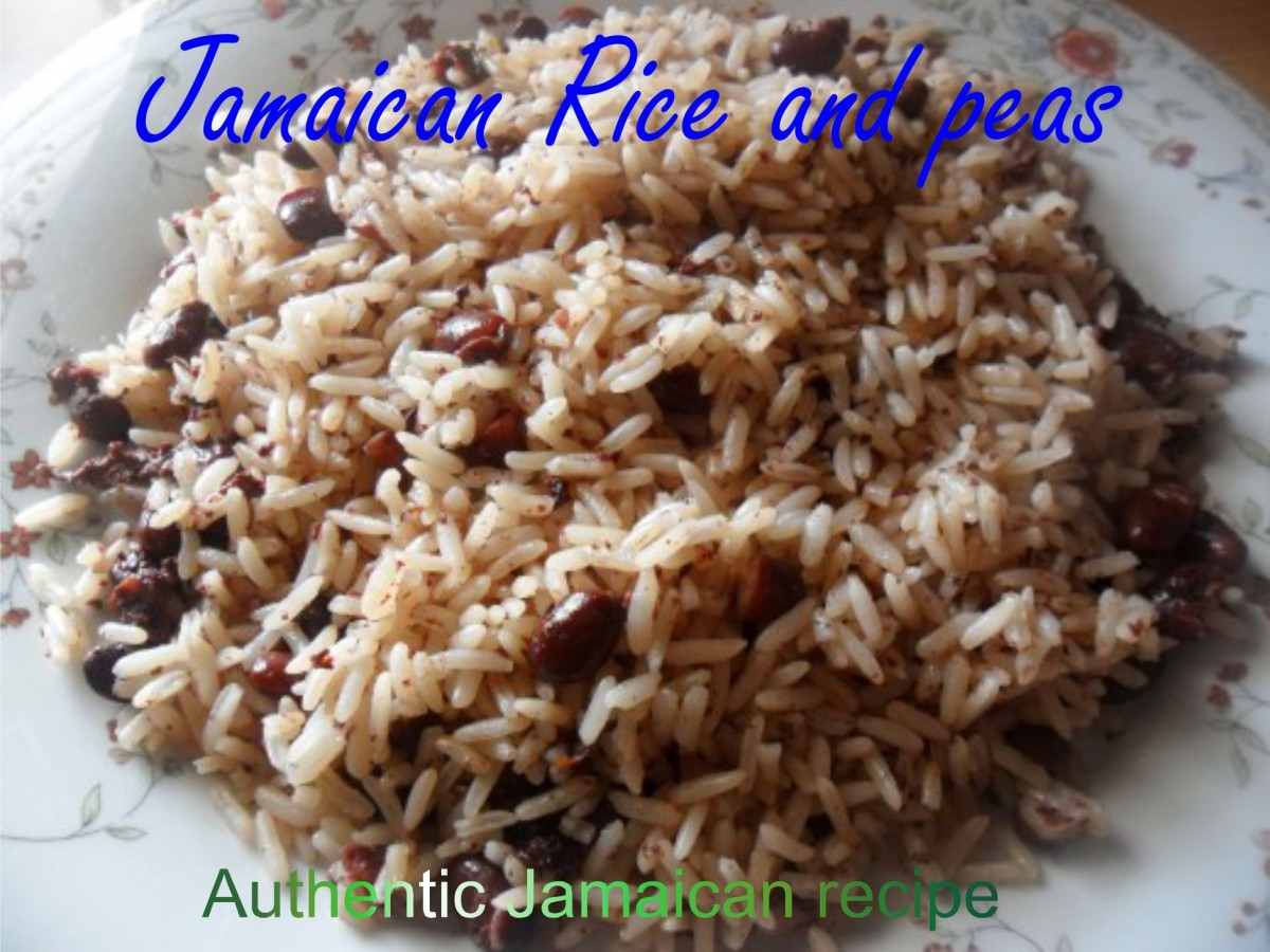 Jamaican Rice and Peas Recipe Using Red Kidney Beans | Delishably