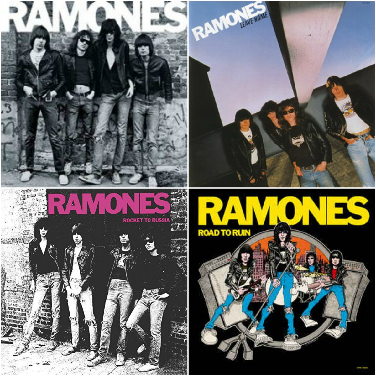 Fun Fact: the Ramones' debut album, released in 1976, was finally certfied Gold (500,000 copies sold) in 2014. Better late than never!