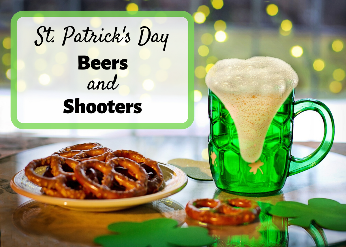 Learn about some Irish beer brands, and see recipes for shooters like the Cement Mixer and the Irish Gold.