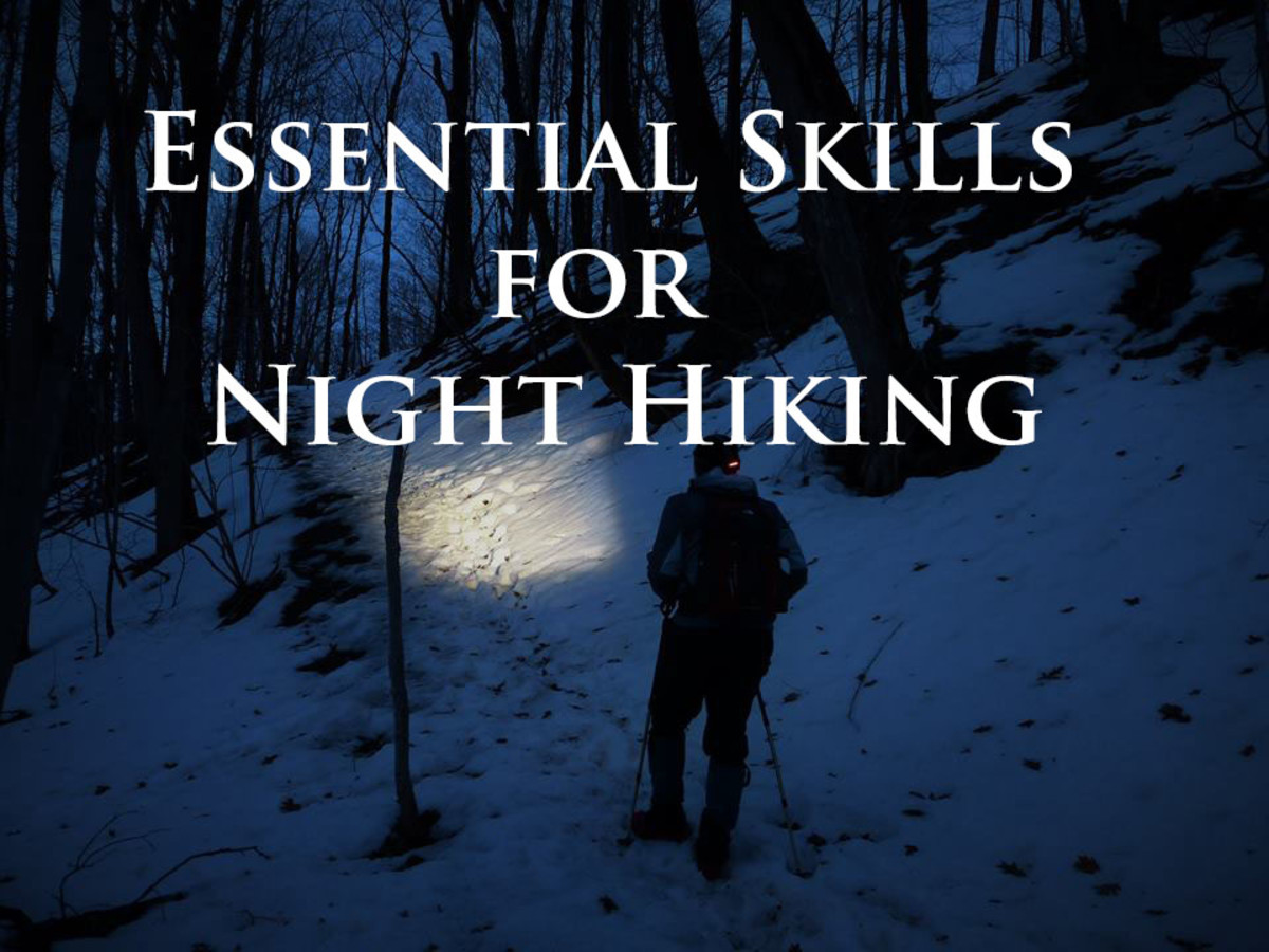 Essential skills for night hiking.