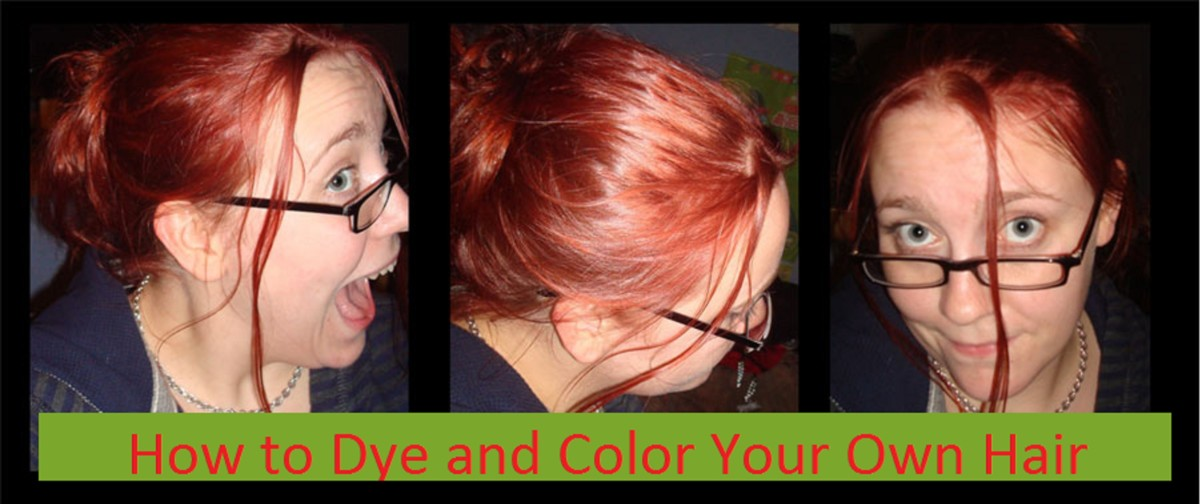How to Color and Dye Your Own Hair and Save Money