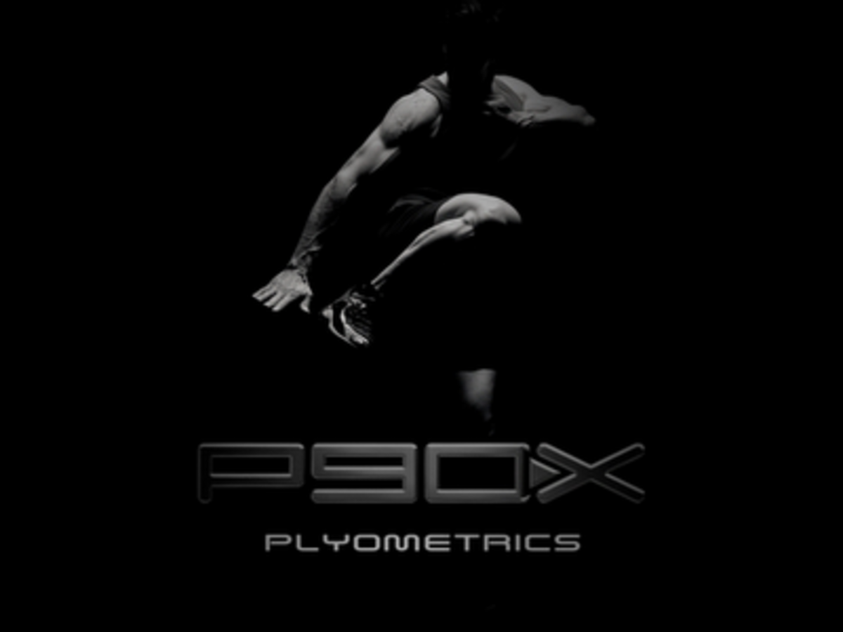 DVD cover of P90X: Plyometrics.