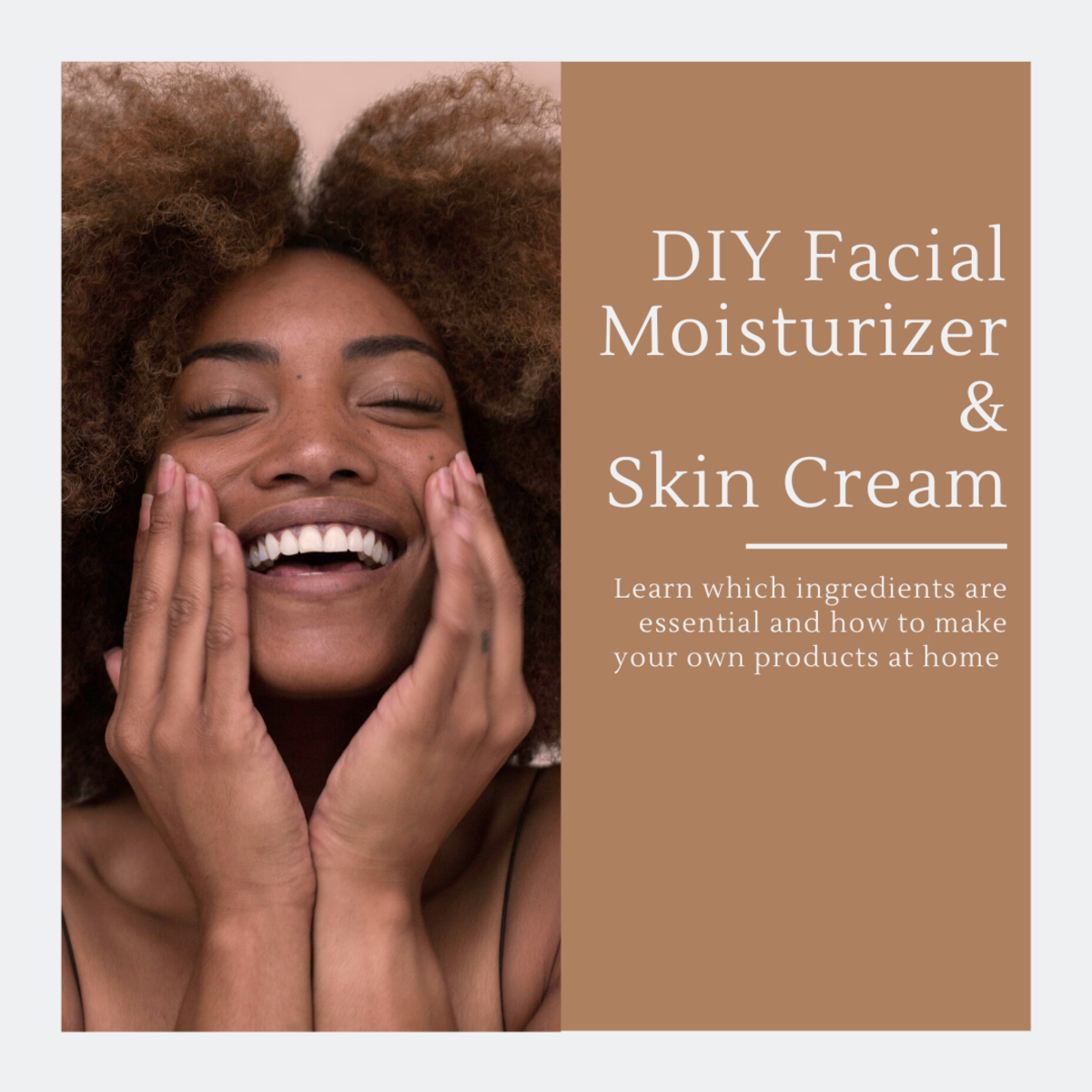 This article will break down the essential components of making your own facial moisturizer and also provides a basic recipe for creating one in your own home.